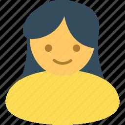 account, female, people, person, profile, user icon