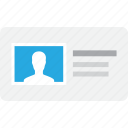 account, avatar, badge, information, profile, user, vcard icon