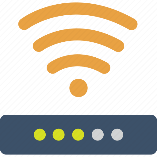 connect, internet, network, on, signal, wifi icon