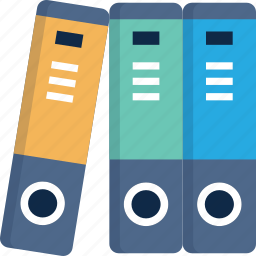 archive, documents, elements, files, history, library, papers icon