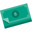 business, cash, currency, dollars, money, payment, shopping icon