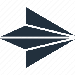 aircraft, arrow, direction, right icon