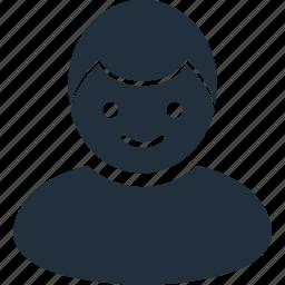 account, avatar, boy, male, profile icon