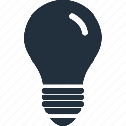 bubl, electric, idea, ideas, lamp, light, power icon