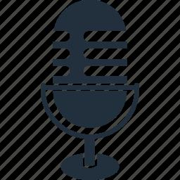 announcer, conversation, media, micro, microphone, radio, voice icon