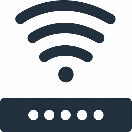 access, internet, network, point, router, signal, wifi icon