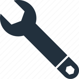 configuration, gear, options, preferences, service, tool, wrench icon