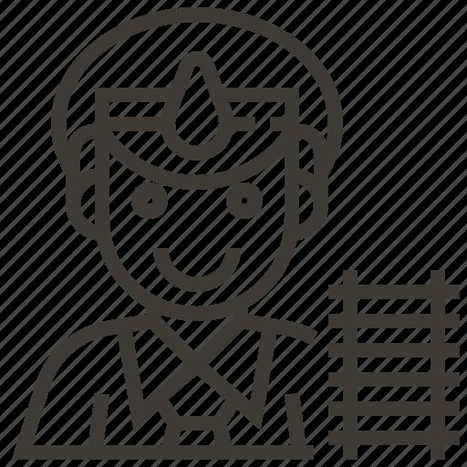Railway, avatar, conductor, man, railroad, train icon - Download on Iconfinder
