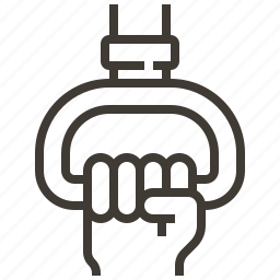 hand, passenger, ring icon