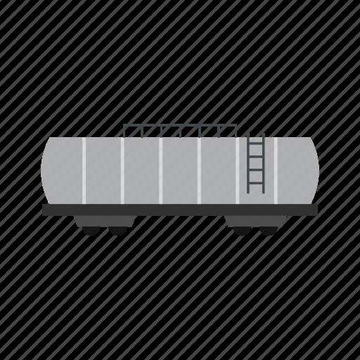 Rail, railroad, railway, tank, tanker, track, train icon - Download on Iconfinder