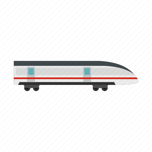 Fast, high, modern, rail, speed, train, transportation icon - Download on Iconfinder