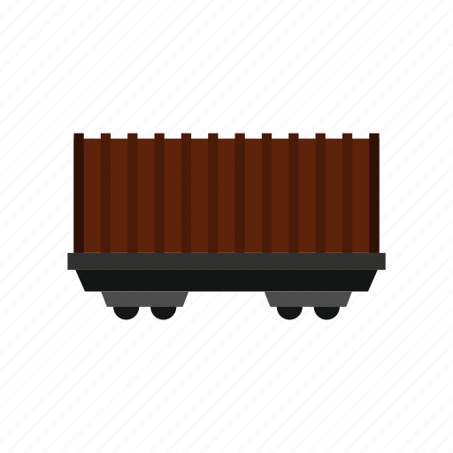 car, cargo, carriage, container, delivery, export, wagon icon