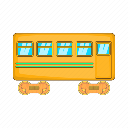 Car, cartoon, fast, rail, railway, sign, transport icon - Download on Iconfinder