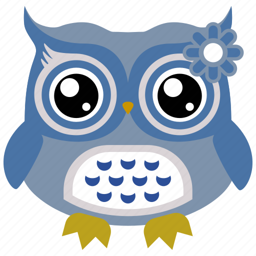 Animal, bird, owl, cute owl, wild icon - Download on Iconfinder