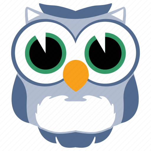 animal, bird, fowl, owl, wild icon