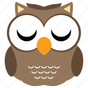 animal, bird, cute, fowl, owl icon
