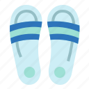 fashion, footwear, sandals, slipper icon