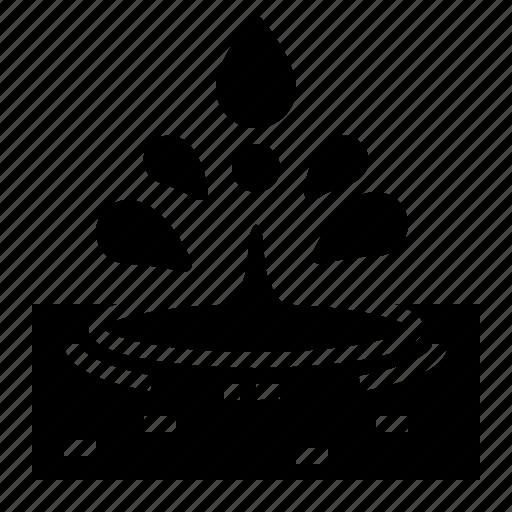 drop, liquid, shape, water icon