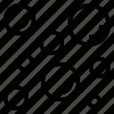 air, bubble, moisture, raindrop, wet icon