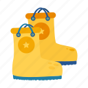 boots, rain, rainboots, rainy, rubber, spring, waterproof icon