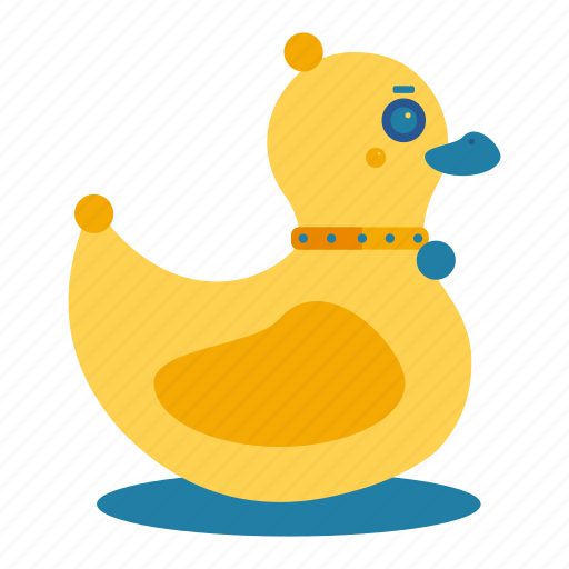 bath, bathroom, child, duck, duckling, toy icon