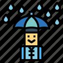clothing, hat, protect, rainy