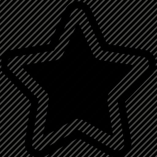 award, bookmark, favorite, like, privilege, rank, rating, star icon