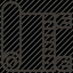 carpet, decoration, prayer, rug icon