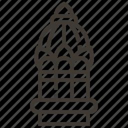 architecture, building, structure, temple icon