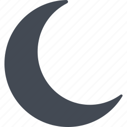 crescent, islam, moon, ramadan icon