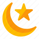 crescent, eid, islam, muslim, ramadan, religion
