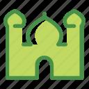 eid, fitr, islam, mosque, ramadan icon