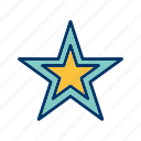 favourite, like, rating, star icon