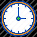 clock, greeting, islamic, kareem, mubarak, muslim, ramadan