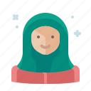 islam, muslim, ramadan, woman icon