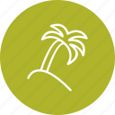plam, plant, tree icon