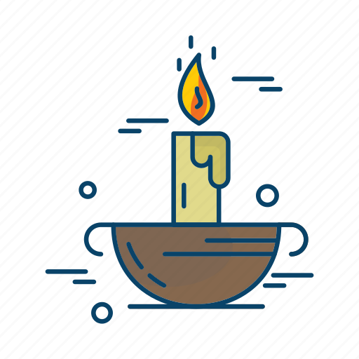 candle, islamic, muslim, religion icon