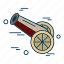 cannon, islamic, muslim, religion icon