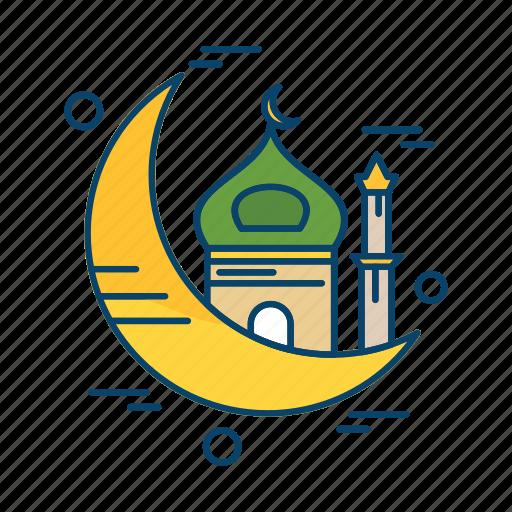 Crecent, islamic, mosque, muslim, religion icon - Download on Iconfinder