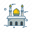islamic, mosque, muslim, religion icon