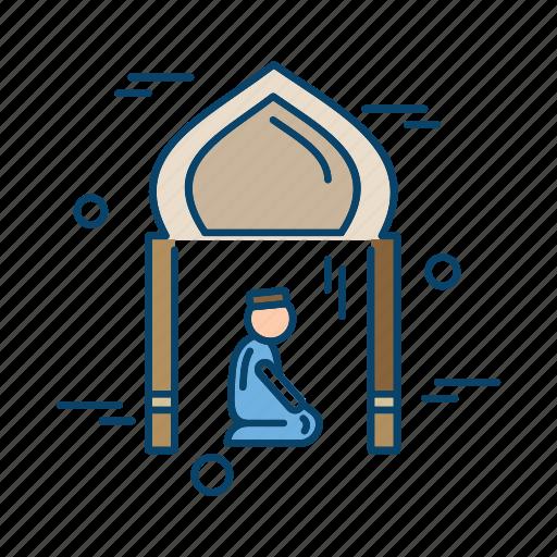 islamic, mosque, muslim, namaz, prayer, religion icon