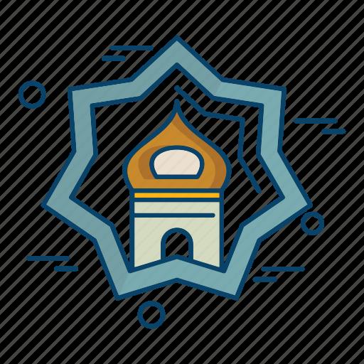 islamic, mosque, muslim, religion, star icon