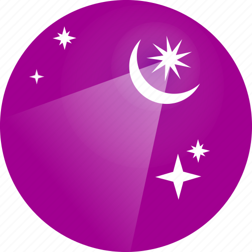islam, light, moon, ramadan, ramzan, sky, stars icon