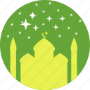 festival, islam, mosque, prayer, ramadan, ramzan, stars icon