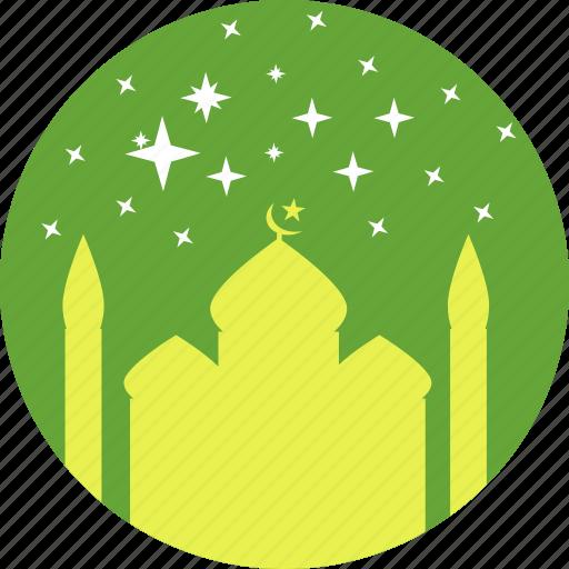 festival, islam, mosque, prayer, ramadan, ramzan, stars icon
