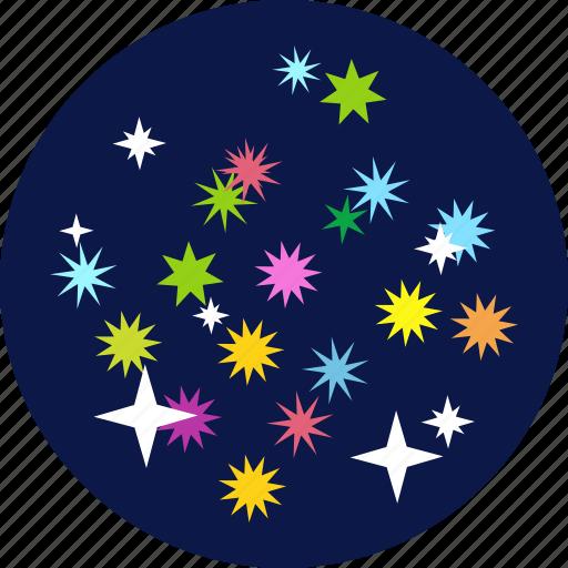 blast, celebrate, celebrations, crackers, fireworks, sky, stars icon