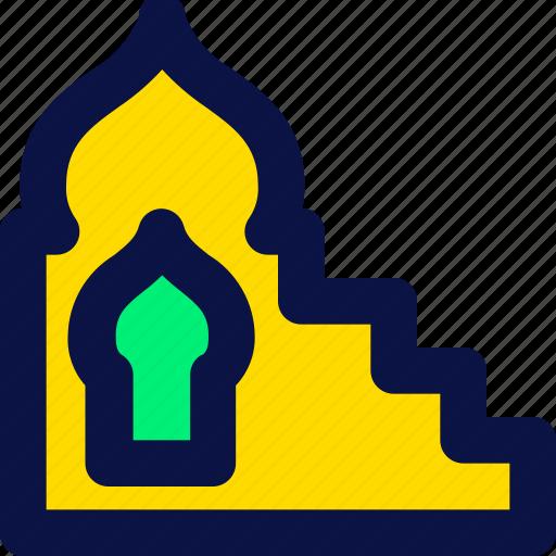 islamic, mimbar, muslim, ramadan icon