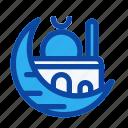 crescent, islam, moon, mosque, muslim