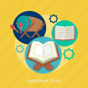 bedug, book, knowledge, learn, ramadan, religion, study icon
