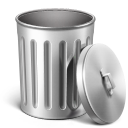 empty, trash icon